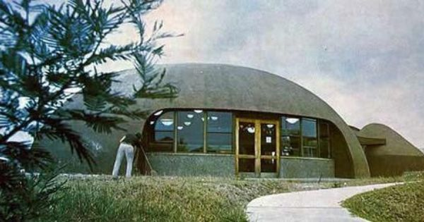 Inflatable Concrete Dome Home Natural Building