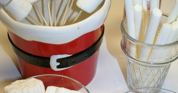 Hot Chocolate Bar - holiday party idea :) Here is a cute