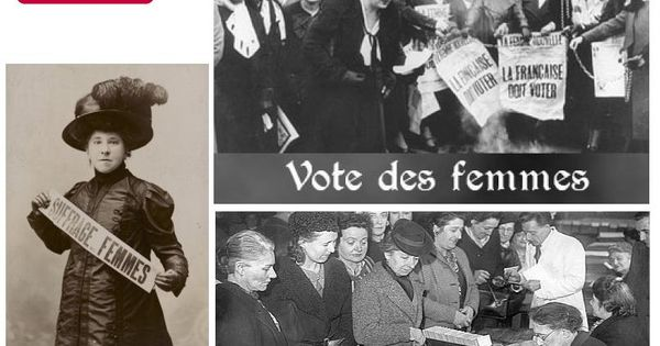 e 21 avril 1944 la france donne enfin le droit de vote aux femmes elles voteront pour la. Black Bedroom Furniture Sets. Home Design Ideas