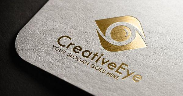 Creative Eye Logo by Design Valley