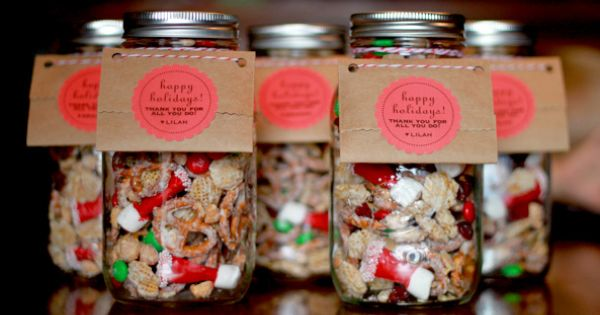 Christmas Gifts Sweet And Salty Chex Mix Seasonal