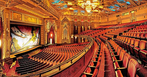 Hdr Balcony View Pantages Theatre Hollywood By Wendell F