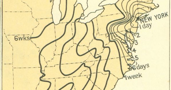 This first map from the 1932 Atlas of the Historical Geography of