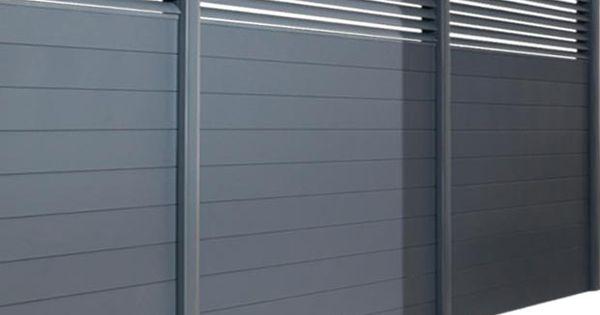 Une Terrasse Design 224 L Abri Des Regards Fences Gates