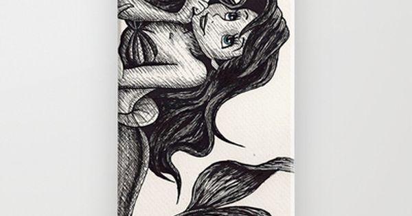 Little Mermaid iPhone & iPod Case by Jack Kershaw - $35.00 @amandabde