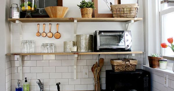 Diy kitchen remodel on a tight budget subway tile for New kitchen on a tight budget