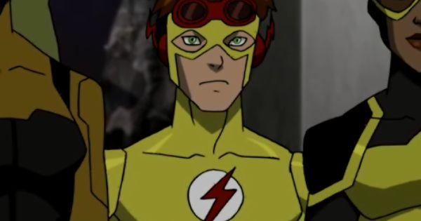 Flash Bart Allen Impulse Dcau Yj Bart Allen Kid Flash 2 Png