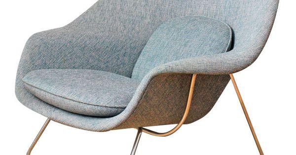 Vintage knoll womb chair by eero saarinen womb chair - Vintage womb chair for sale ...