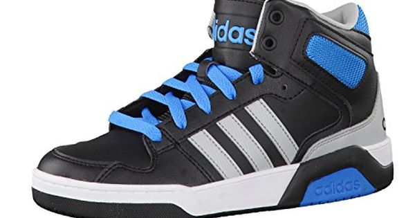 competitive price 861cb 2e087 ... adidas NEO Kinder Sneaker BB9TIS MID K core black clear onix solar  blue2 s14 ...