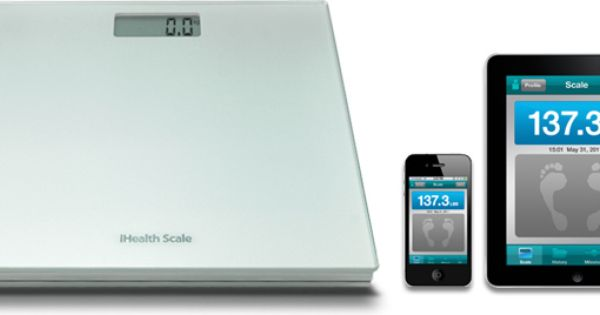 The Ihealth Digital Scale Works With The Ihealth Digital Scale App Free At The App Store Easily Record Daily Weight Measurements Digital Scale Scale Digital
