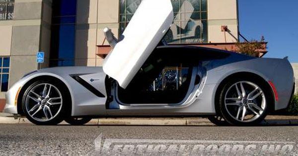 Chevrolet Corvette C7 2014 2016 Vertical Lambo Direct Bolt On Door Hinges 2pc Chevrolet Corvette C7 Chevrolet Corvette Corvette