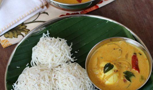 how to make rice flour for idiyappam