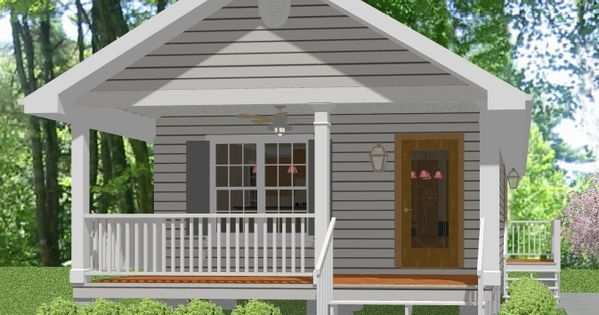 Complete House Plans 648 S F Mother In Law Cottage In