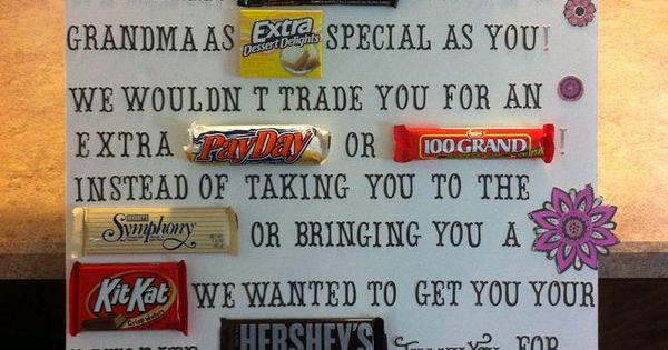 Candy Bar Poster Ideas With Clever Sayings Candy Bar