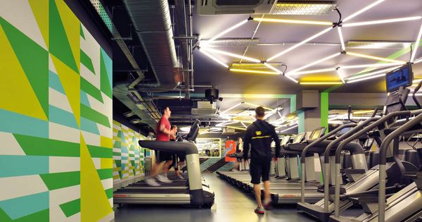 Small High Impact Decor Ideas: London Gyms - Farringdon - Gymbox