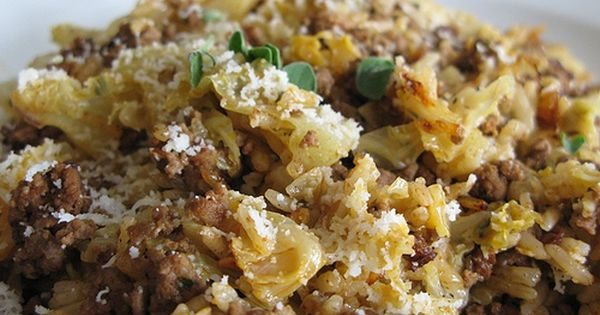 Hungarian Beef And Cabbage Casserole Recipe Cookthink Recipes Meat Recipes Cabbage Casserole