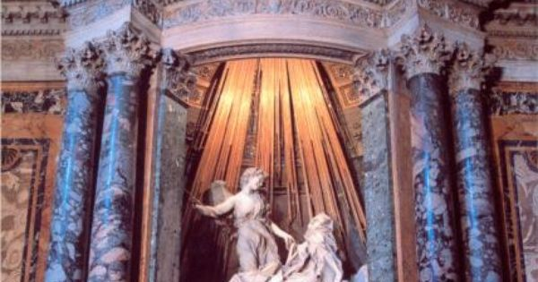 an analysis of the art history and the piece of the ecstasy of st teresa by bernini It is the culmination of the counter reformation in art bernini was made a papal wonderful st teresa processional route in the history of art.