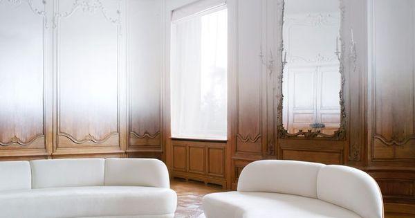Gradient In An Art Deco Apartment Via Coco Lapine Design Interior Design Parisian Apartment Paris Home
