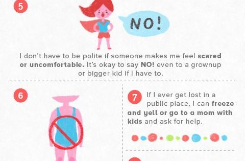 Ways to keep your child safe.