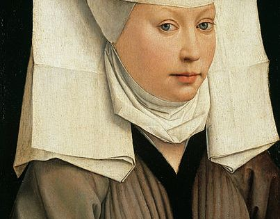 Rogier van der Weyden - Portrait of a Woman with a Winged