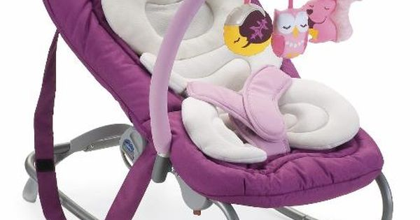 Chicco Mia baby Rocking Bouncer Chair in Mrs Owl