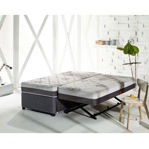 The Sensational Complete High Rise Trundle Bed 500 Lbs Weight Capacity Sufs Trundle Bed Roll Away Beds Trundle