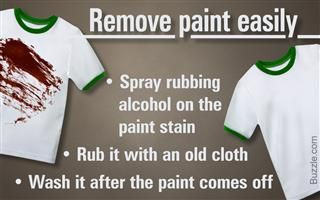 3 Methods That Show How To Remove Paint From Clothes Effortlessly