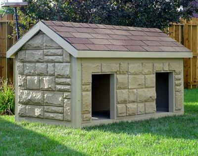 Hi Tech Large Duplex Insulated Dog House Turn Into House