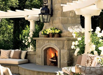 Backyard Masters does custom fireplaces, stonework, pergolas & outdoor furniture. Check out