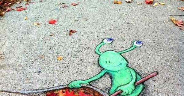 STREET ART UTOPIA » We declare the world as our canvasChalk Art
