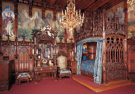 Neuschwanstein Castle King S Bedroom Neuschwanstein Castle Castles Interior Germany Castles
