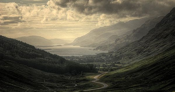 Scotland Highlands, This is one beautiful place to see and travel on.