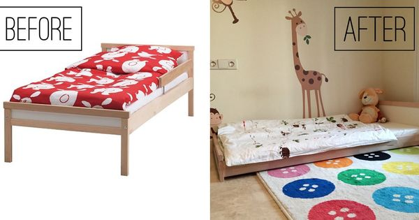 The perfect ikea montessori bed montessori bedroom - Ikea letto montessori ...