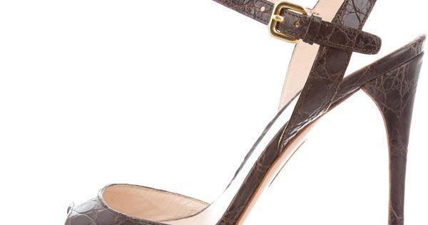 prada alligator shoes