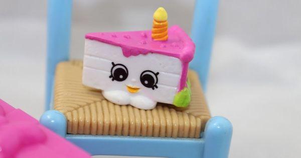 Shopkins Season 7 Gracie Birthday Cake Pink /& White Combined Postage