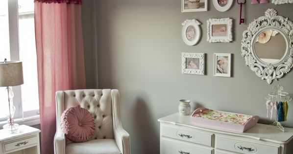 girl nursery pink grey nursery baby room ideas baby room baby room