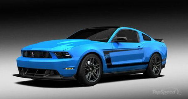 2012 Grabber Blue Boss 302 Laguna Seca Top Speed Mustang Boss Ford Mustang Boss 302 Mustang Boss 302
