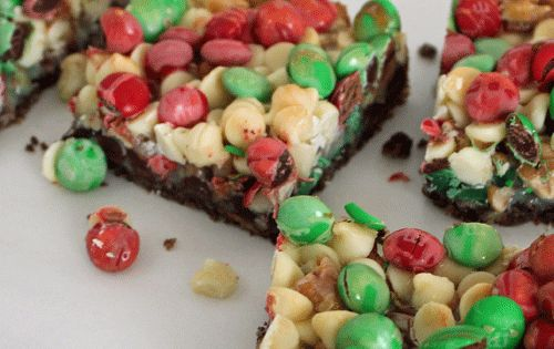 45 christmas sweet treats. Made the magic Christmas bars, they were delicious!!