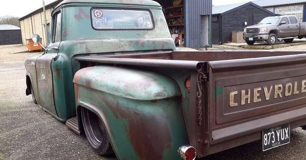 Old Classic Cars >> 1956 CHEVROLET APACHE RAT ROD AIR BAGGED PICK UP TRUCK AMERICAN PATINA in Cars, Motorcycles ...
