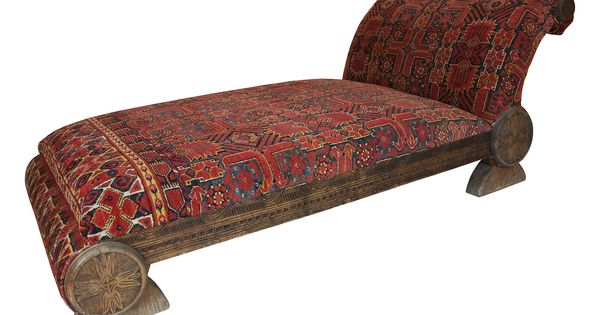 Bukhara chaise longue on one kings lane today shop for Art nouveau chaise lounge