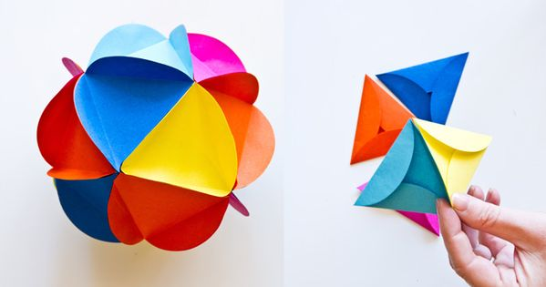 Bloesem kids crafting blog - Paper-ball