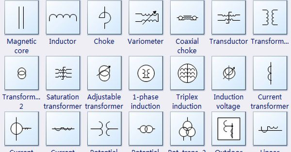 Electrical Transformer Symbols Electrical Transformers Transformers Inductors
