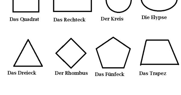 geometrische figuren auf deutsch auf deutsch bitte pinterest. Black Bedroom Furniture Sets. Home Design Ideas