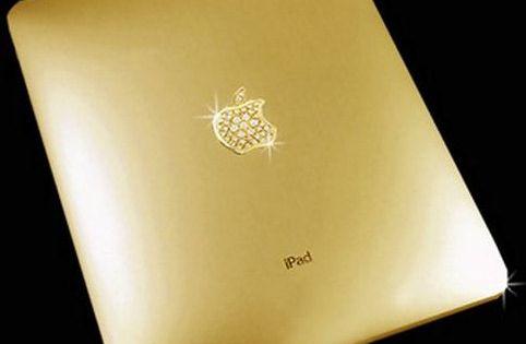 Do you need a golden iPad? I know I do...