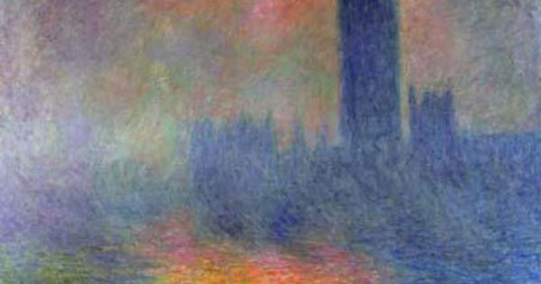 Claude Monet Houses Of Parliament Between 1899 And 1905 Monet Paintings Art Claude Monet