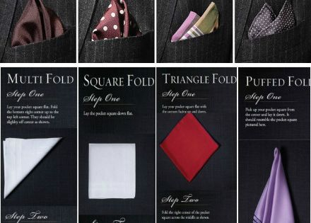 Pocket square guide. Mens fashion, style.
