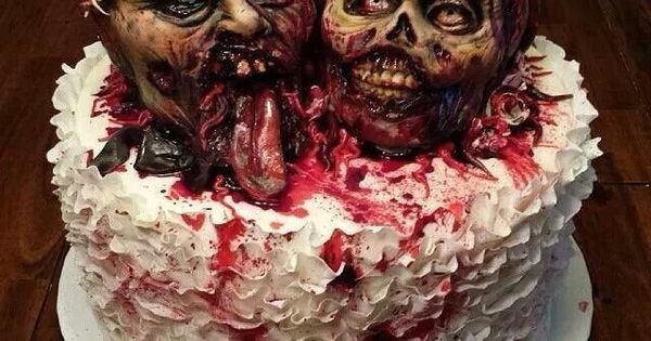 Cake Artist Sarah Jones : Awesome zombie wedding cake, by Cake Artist Sarah Jones ...