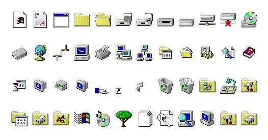 Know Your Icons Part 1 A Brief History Of Computer Icons Tuts Design Illustration Article Computer Icon Computer History Icon