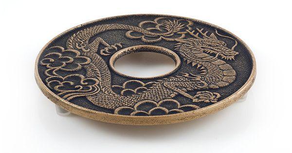 Imperial dragon trivet beautiful cast iron teapot trivets for your home at teavana teavana - Cast iron dragon teapot ...