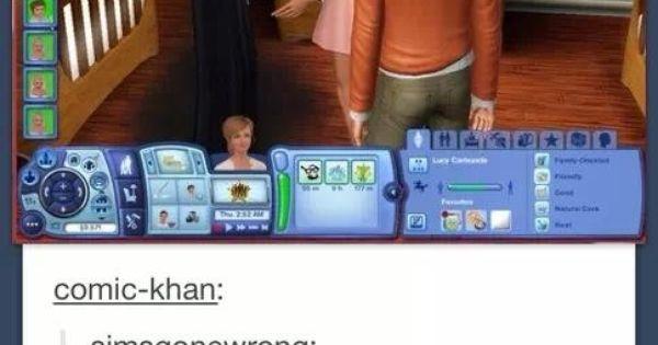 Supernatural Sims. Omg hahaha